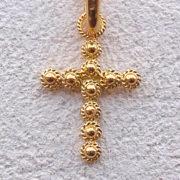 ART 101 - Croce in filigrana - Dettaglio