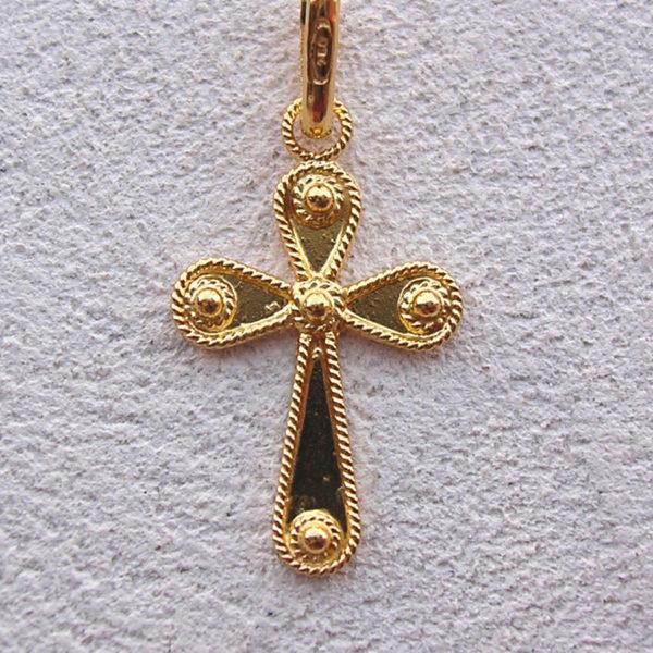 ART 106 - Croce in filigrana - Dettaglio