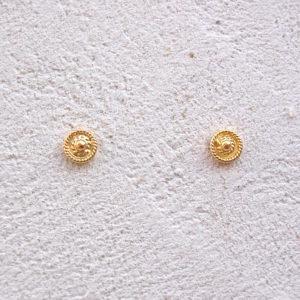 ART 301 - Orecchini d'oro in filigrana