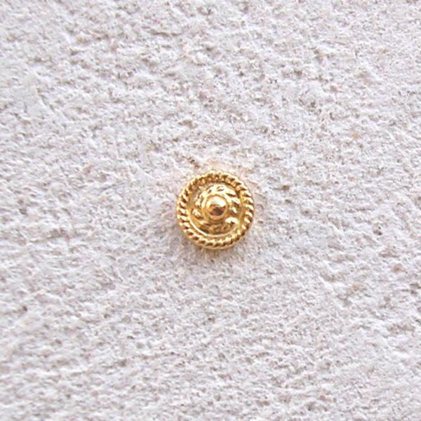ART 301 - Orecchini d'oro in filigrana - Dettaglio