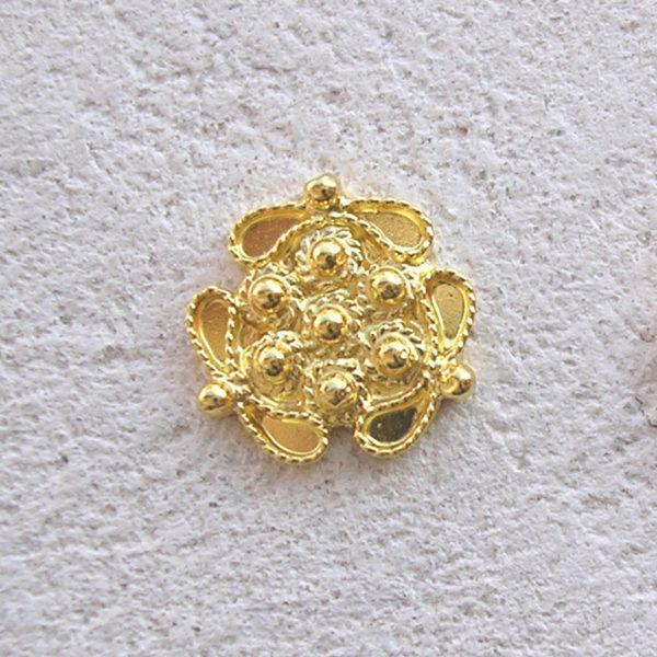 ART 303 - Orecchini d'oro in filigrana - Dettaglio