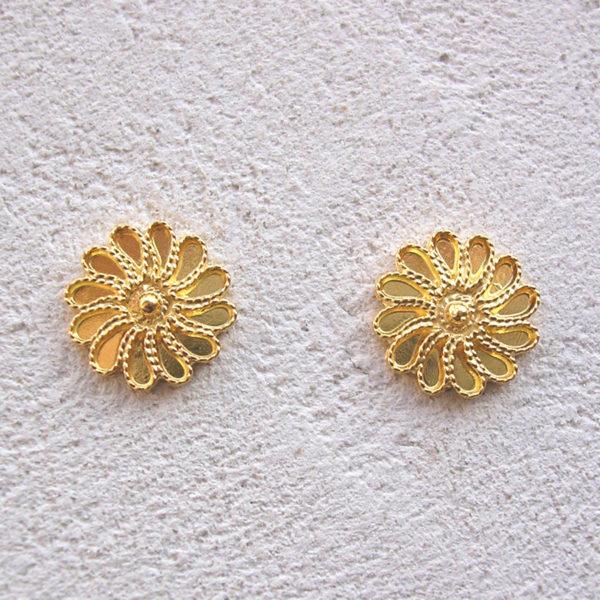 ART 304 - Orecchini d'oro in filigrana
