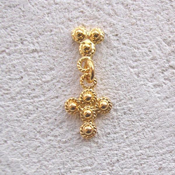 ART 305 - Orecchini d'oro in filigrana - Dettaglio