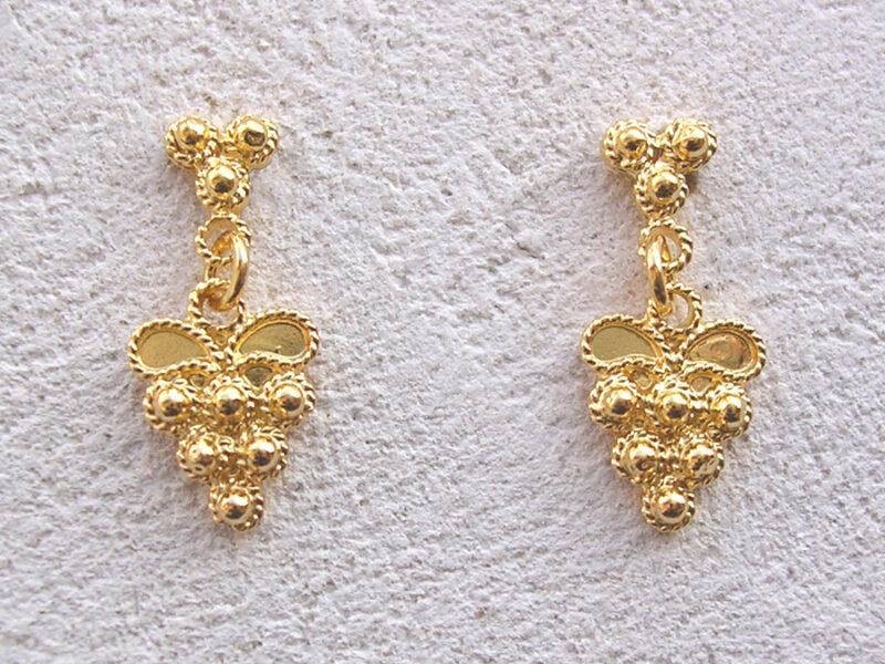 ART 306 - Orecchini d'oro in filigrana