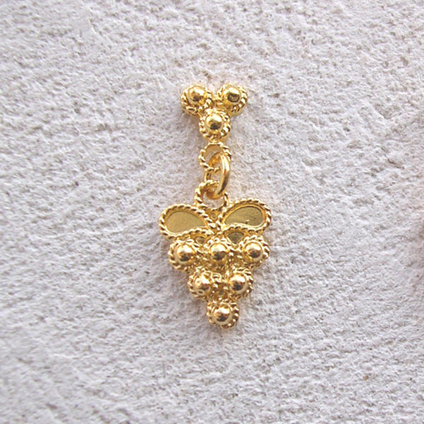 ART 306 - Orecchini d'oro in filigrana - Dettaglio