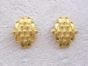 ART 307 - Orecchini d'oro in filigrana