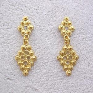 ART 311 - Orecchini d'oro in filigrana
