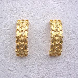 ART 321 - Orecchini d'oro in filigrana