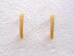 ART 351 - Orecchini d'oro in filigrana