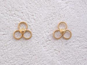ART 352 - Orecchini d'oro in filigrana