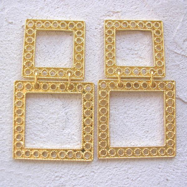 ART 355 - Orecchini d'oro in filigrana