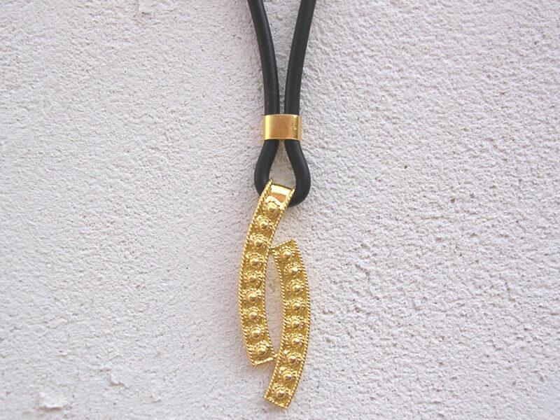 ART 403 - Collier d' oro in filigrana