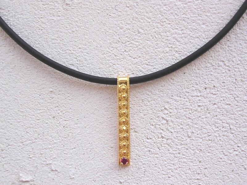 ART 404 - Collier d' oro in filigrana