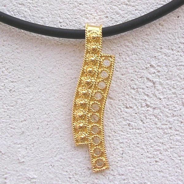 ART 405 - Collier d' oro in filigrana - Dettaglio