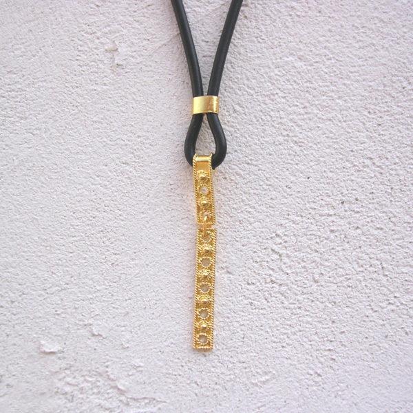 ART 406 - Collier d' oro in filigrana
