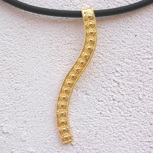 ART 408 - Collier d' oro in filigrana - Dettaglio
