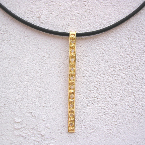 ART 409 - Collier d' oro in filigrana
