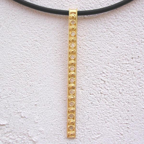ART 409 - Collier d' oro in filigrana - Dettaglio