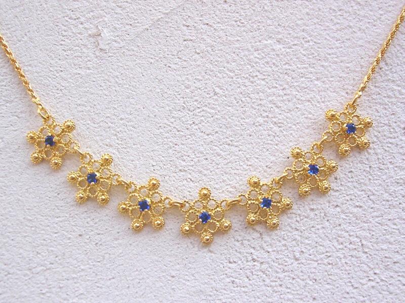 ART 410 - Collier d' oro in filigrana