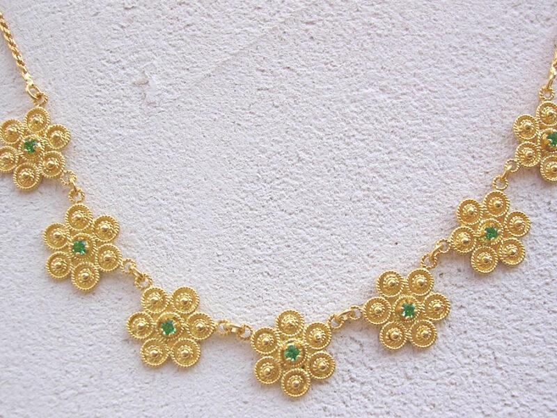 ART 411 - Collier d' oro in filigrana