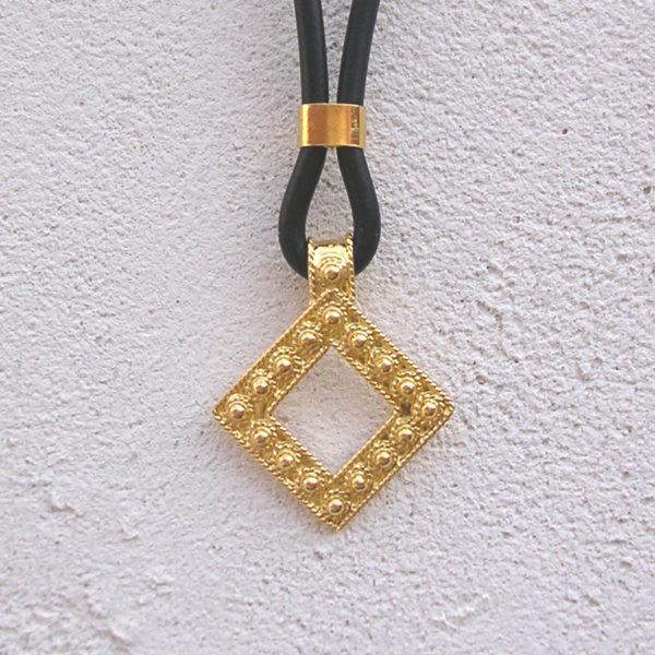 ART 412 - Collier d' oro in filigrana - Dettaglio