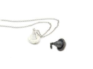 """Amuleto in argento 800 """"Pippiolu"""" sonaglino"""
